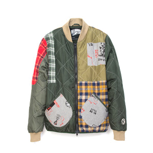 Billionaire Boys Club | Patchwork Liner Olive - Concrete