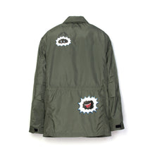 將圖像加載到畫廊查看器中Billionaire Boys Club | Technical Nylon Military Jacket Olive - Concrete