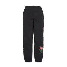 Load image into Gallery viewer, Billionaire Boys Club | Embroidered Floral Sweatpant Black