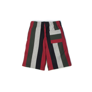 Billionaire Boys Club | Baja Short Multi Striped - Concrete