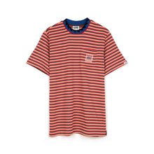 Load image into Gallery viewer, BBC Striped Pocket T-Shirt Red