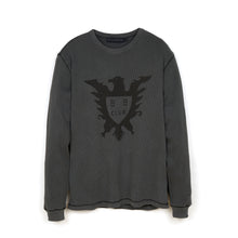 Load image into Gallery viewer, BBC Overdyed L/S Waffle T-Shirt Black