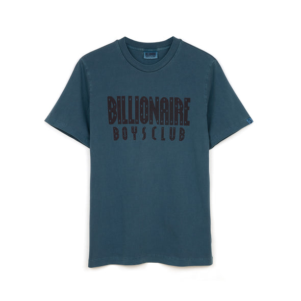 Billionaire Boys Club | Overdyed Straight Logo T-Shirt Petrol