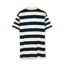 將圖像加載到畫廊查看器中Billionaire Boys Club | Random Stripe Polo Blue - Concrete