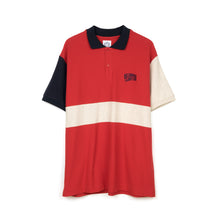 Load image into Gallery viewer, BBC 3-Tone Polo Shirt Navy - Concrete