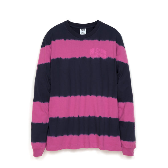 Billionaire Boys Club | Bleached Striped L/S T-Shirt Blue