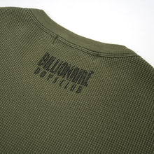 Load image into Gallery viewer, Billionaire Boys Club | Overdyed L/S Waffle T-Shirt Olive - Concrete