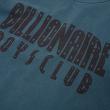Load image into Gallery viewer, Billionaire Boys Club | Overdyed Straight Logo T-Shirt Petrol