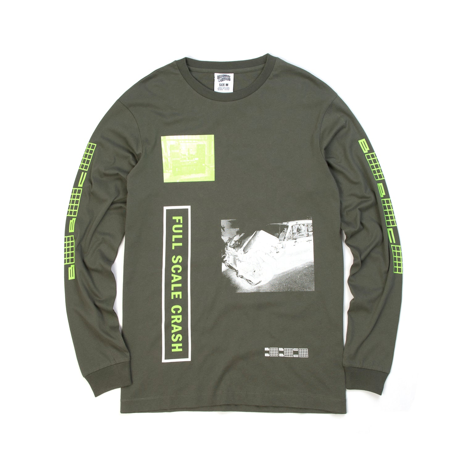 BBC Full Scale Crash L/S T-Shirt Olive