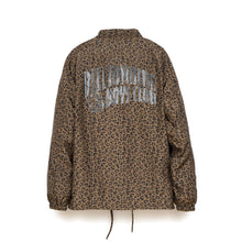 Load image into Gallery viewer, Billionaire Boys Club | Leopard Print Coach Jacket Brown