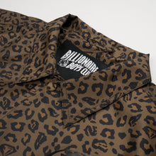Load image into Gallery viewer, BBC Leopard Print Coach Jacket Brown