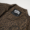 BBC Leopard Print Coach Jacket Brown