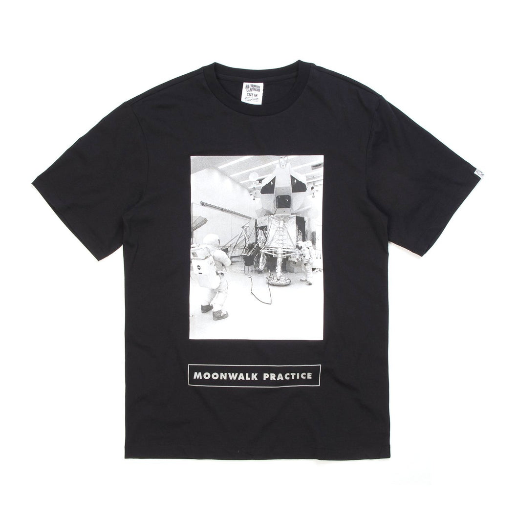 Billionaire Boys Club | Moonwalk Practice T-Shirt Black - Concrete