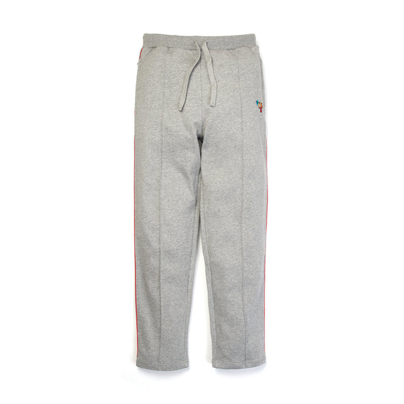 Billionaire Boys Club | Raygun Pleated Sweatpant Heather Grey - Concrete