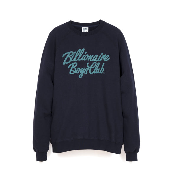 Billionaire Boys Club | Script Crewneck Dress Blue
