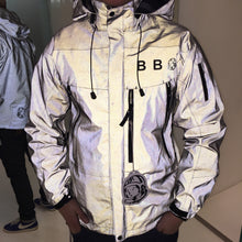 將圖像加載到畫廊查看器中BBC Ghost Reflective Tech Jacket Black - Concrete