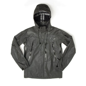 BBC Ghost Reflective Tech Jacket Black - Concrete