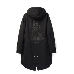 Billionaire Boys Club | Space Park Fishtail Parka Black