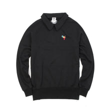 將圖像加載到畫廊查看器中Billionaire Boys Club | Raygun Collared Crewneck Black - Concrete