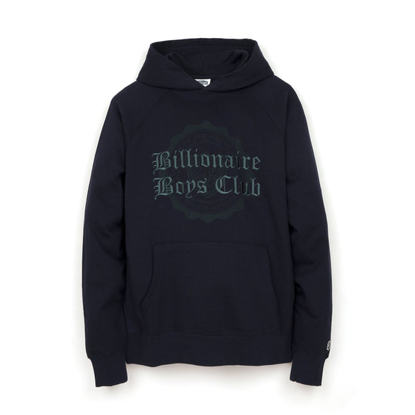 Billionaire Boys Club | College Popover Hood Navy