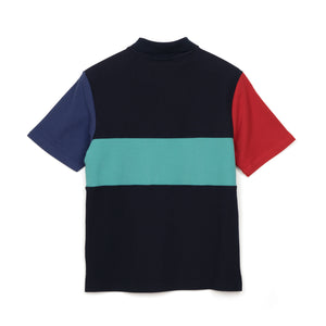 BBC Cut & Sew Polo Shirt Blue