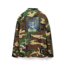 將圖像加載到畫廊查看器中Billionaire Boys Club | Military Overshirt Camo - Concrete