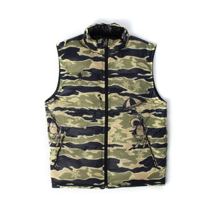Billionaire Boys Club | Reversible Camo Gilet Black/Camo