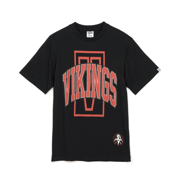 Billionaire Boys Club | Vikings T-Shirt Black - Concrete