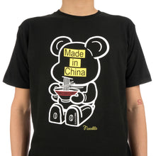 Load image into Gallery viewer, BE@RBRICK | Noodle BE@RTEE Black