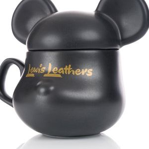 BE@RBRICK | x Lewis Leathers BE@MUG Black