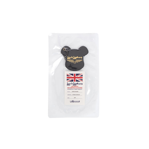 BE@RBRICK | x Lewis Leathers Key Holder Black