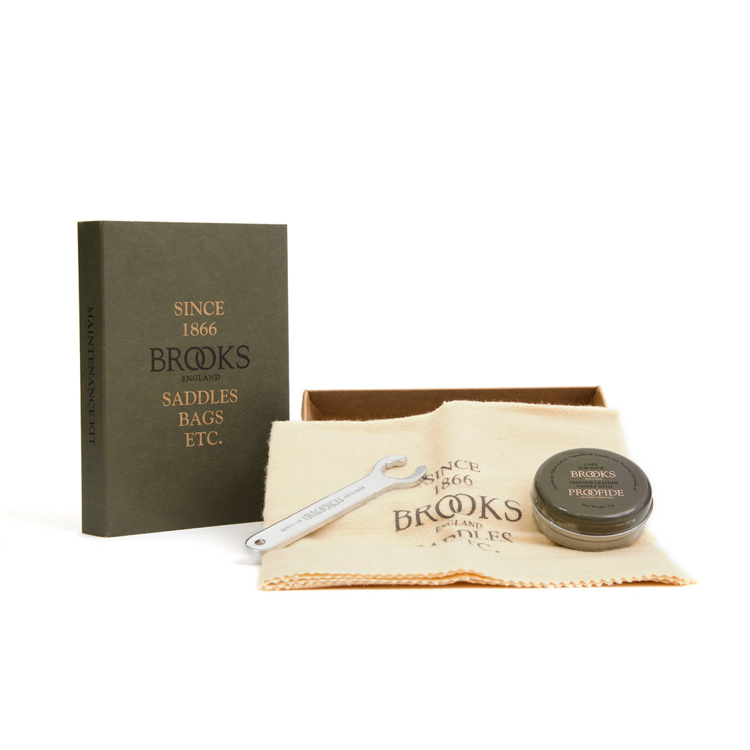 Brooks England | Maintenance / Leather Saddle Care Kit - Concrete