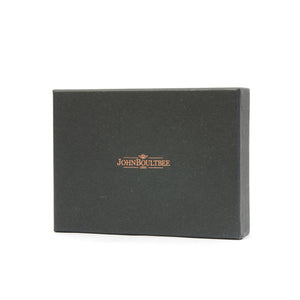 Brooks England JB3 Passport Holder Black With Money Clip - Concrete