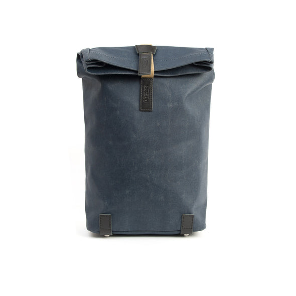 Brooks England | Pickwick Small (12Lt) Backpack Dark Blue - Concrete
