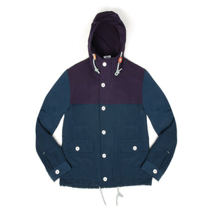 Bedwin 'Harrison' Mountain Parka Navy - Concrete
