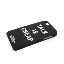 Load image into Gallery viewer, Bedwin & The Heartbreakers | 'Ringwald' iPhone Case Black - Concrete