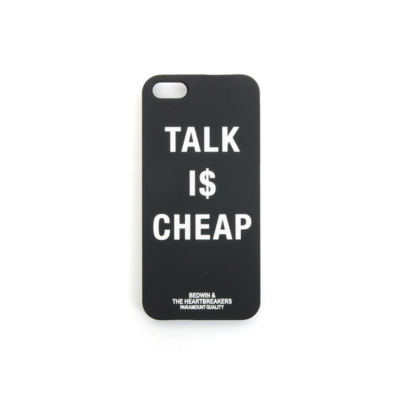 Bedwin 'Ringwald' iPhone Case Black - Concrete