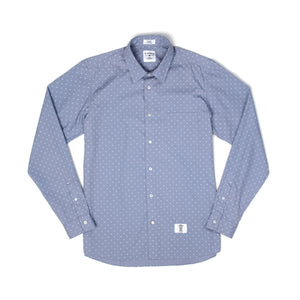 Bedwin & The Heartbreakers | 'Tailor' Longsleeve Broad OG Dot Shirt - Concrete