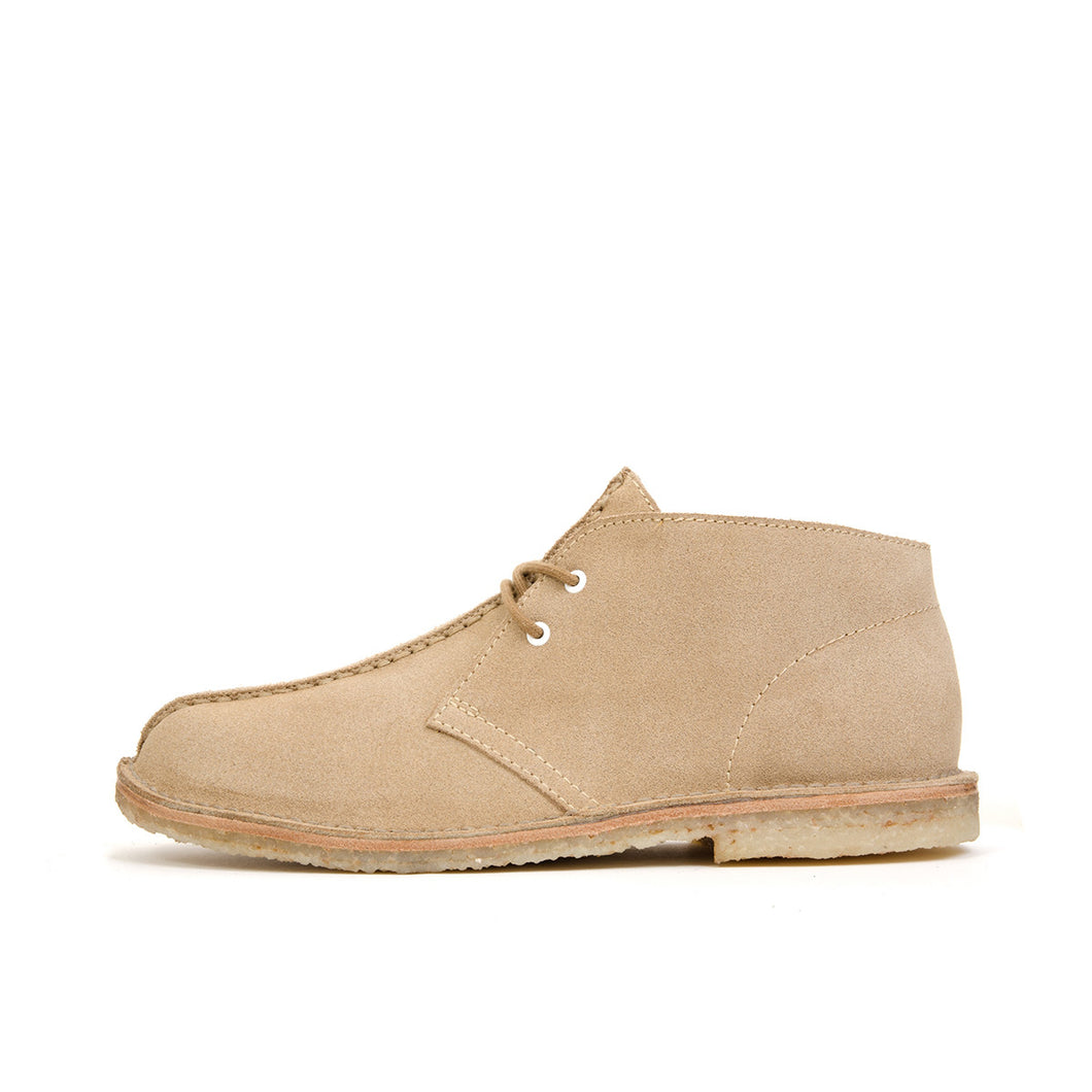 Bedwin & The Heartbreakers | 'Simon' Chukka Boots Beige - Concrete