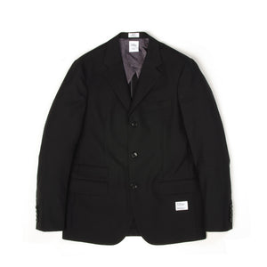 Bedwin & The Heartbreakers | 'Michael' 3B Bower Roebuck Taylor Jacket Black - Concrete