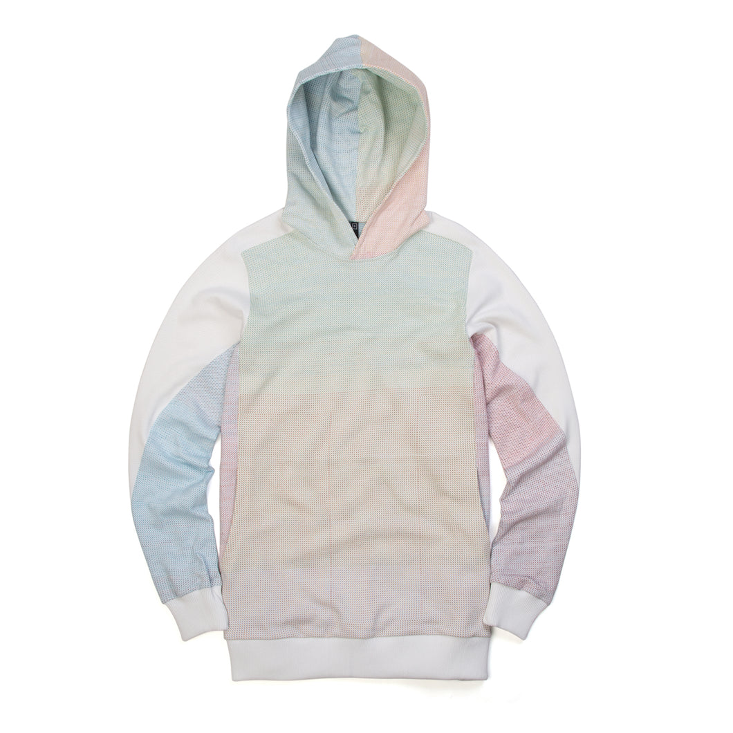 BYBORRE Hooded Sweater A2 White Dot