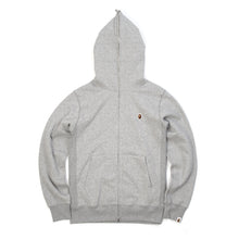 將圖像加載到畫廊查看器中Bape Heavy Weight Full Zip Hoodie Grey - Concrete