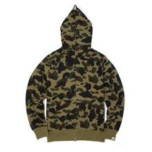 Load image into Gallery viewer, Bape 1st Camo Full Zip Hoodie Green