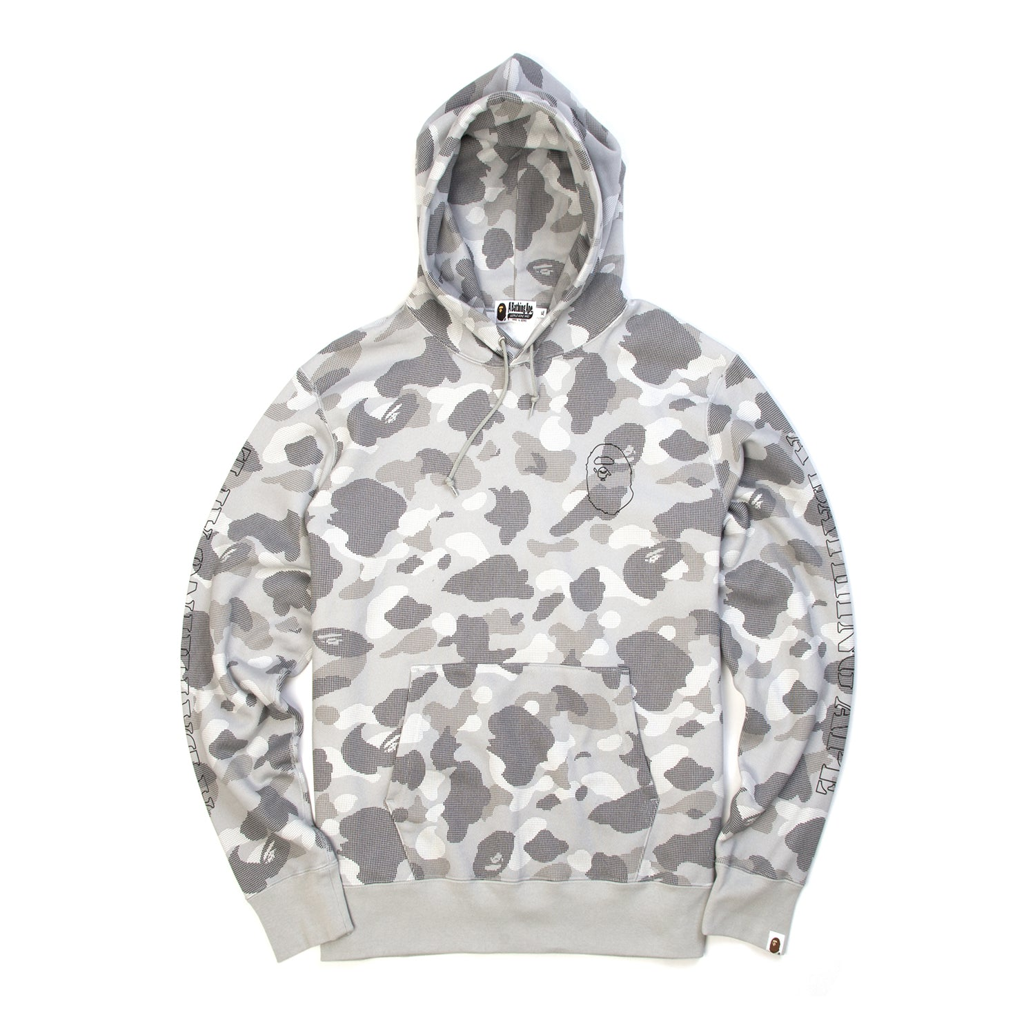beee2a88f7cd Bape Dot Camo Wide Pullover Hoodie – Concrete