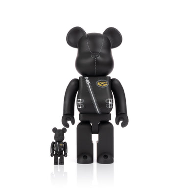 Medicom Toy | Be@rbrick 400% + 100% x Lewis Leathers - Concrete