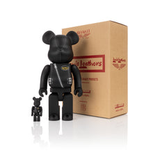 Afbeelding in Gallery-weergave laden, Medicom Toy | Be@rbrick 400% + 100% x Lewis Leathers