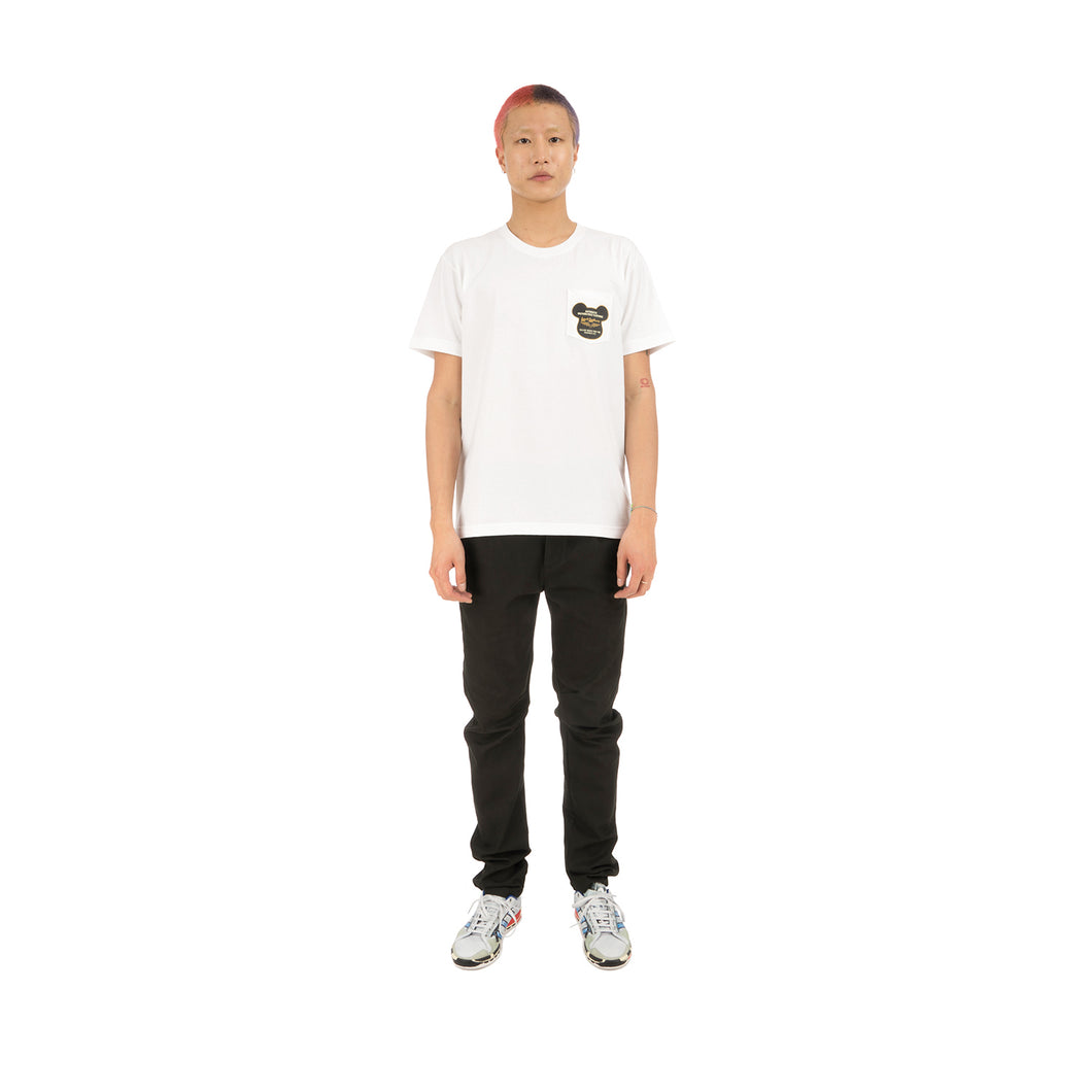 BE@RBRICK | x Lewis Leathers BE@R Tee White