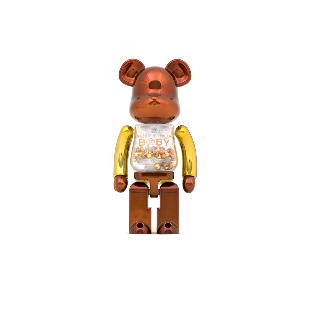 Be@rbrick Super Alloyed 'My First Be@rbrick B@by' Steampunk Version