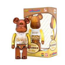 Load image into Gallery viewer, Be@rbrick Super Alloyed 'My First Be@rbrick B@by' Steampunk Version