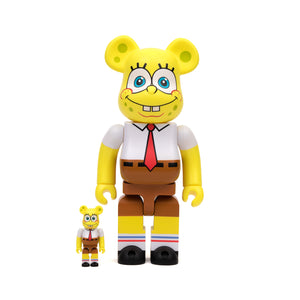 Medicom Toy | Be@rbrick 400% + 100% SpongeBob SquarePants - Concrete